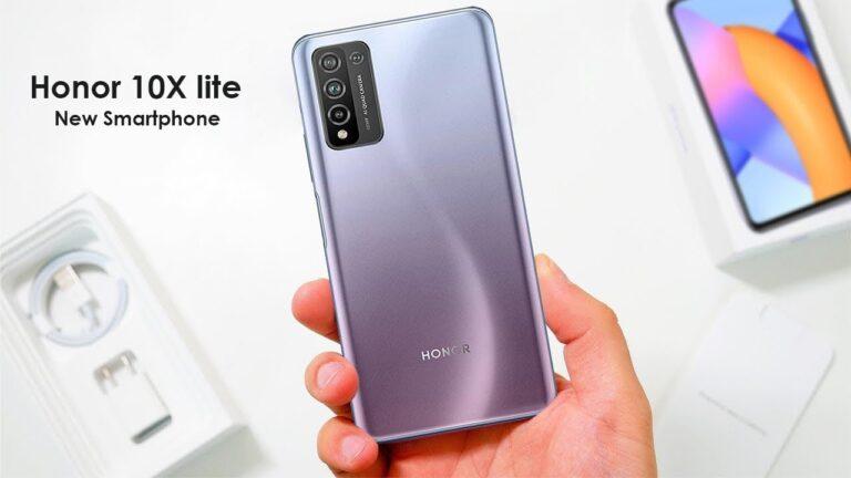 Global launch of Honor 10X Lite