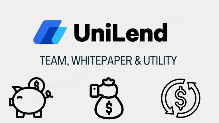 Utilities of Unilend Finance Token | UFT Token | White-paper | Team