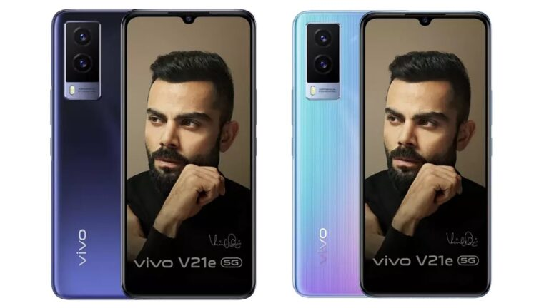 Vivo V21e 5G Launched: Price & Specifications