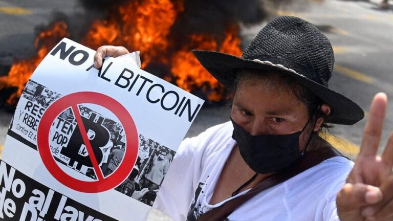 El Salvador's government faces investigation for its Bitcoin purchases and ATMs