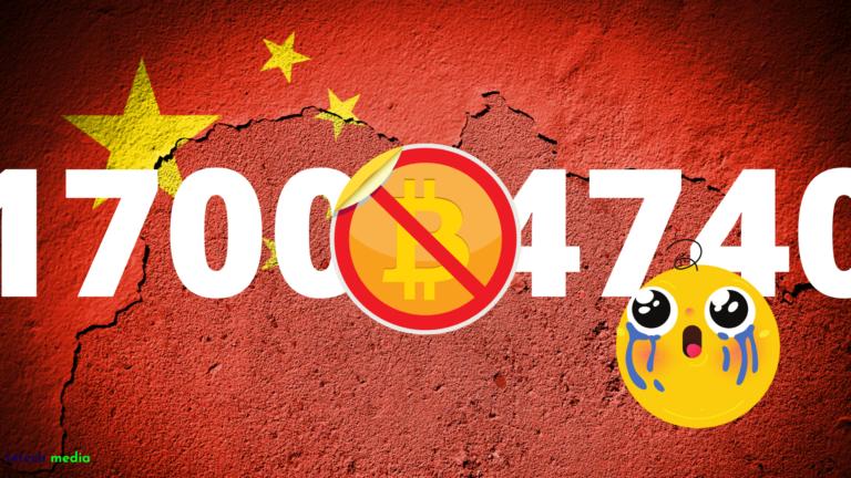China FUD comes back – Bitcoin Dead?
