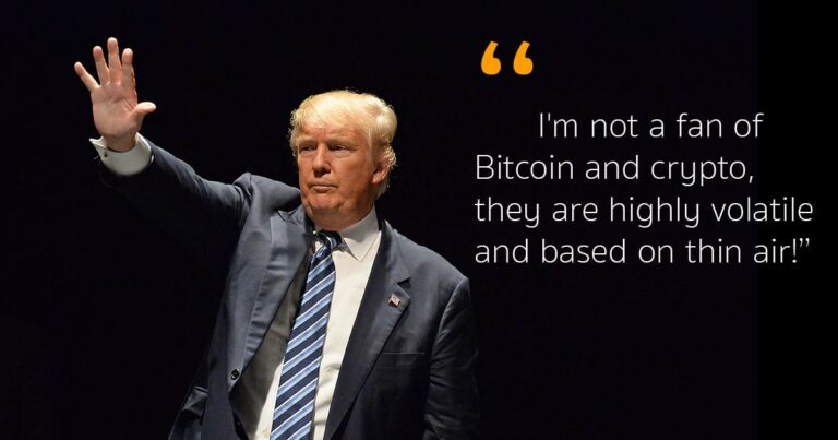 Donald Trump's views on Crypto!!!